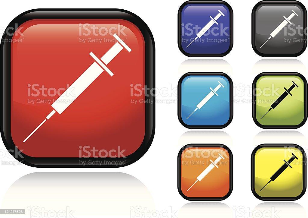Syringe Icon royalty-free stock vector art