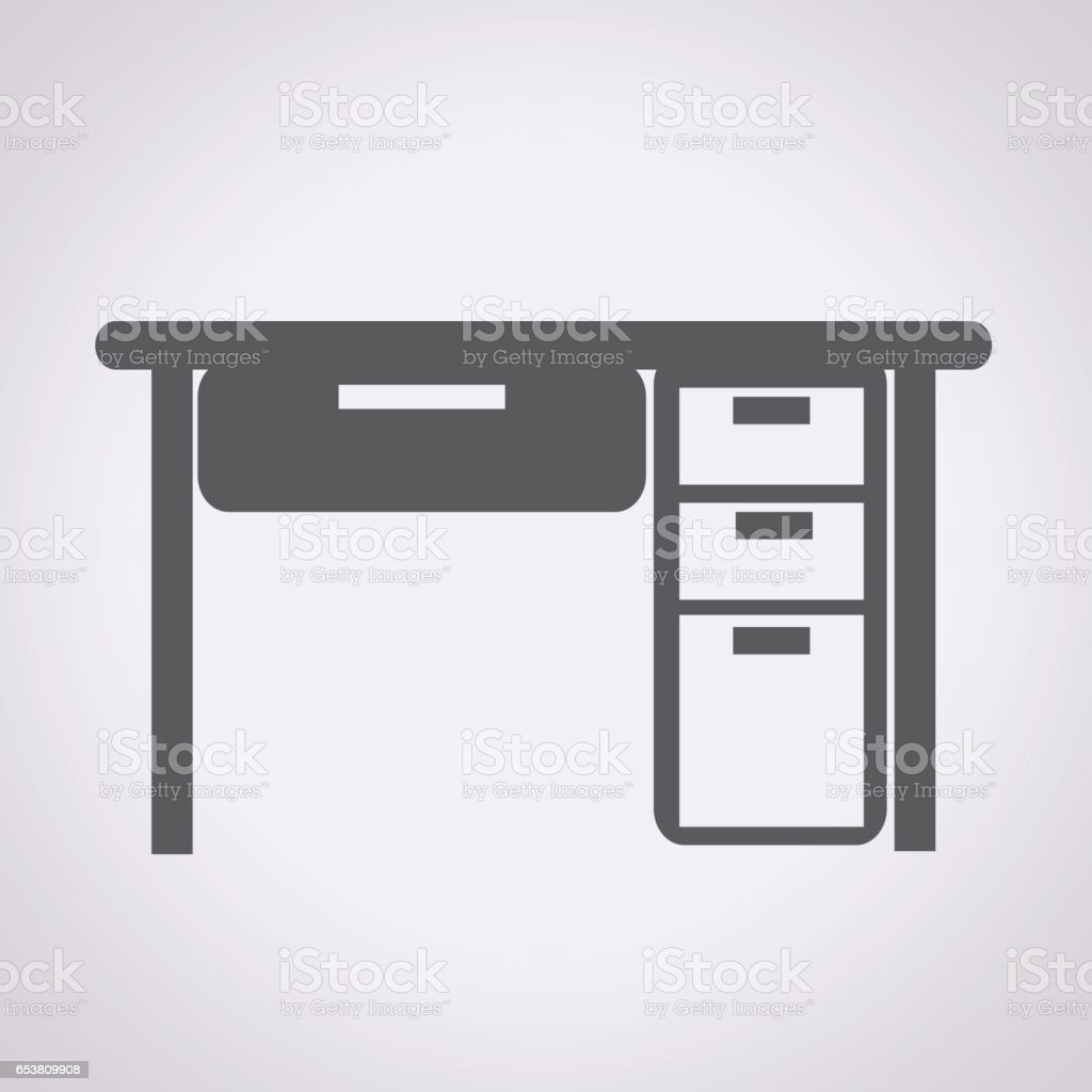 Simple table free other icons - Table Office Icon Royalty Free Stock Vector Art