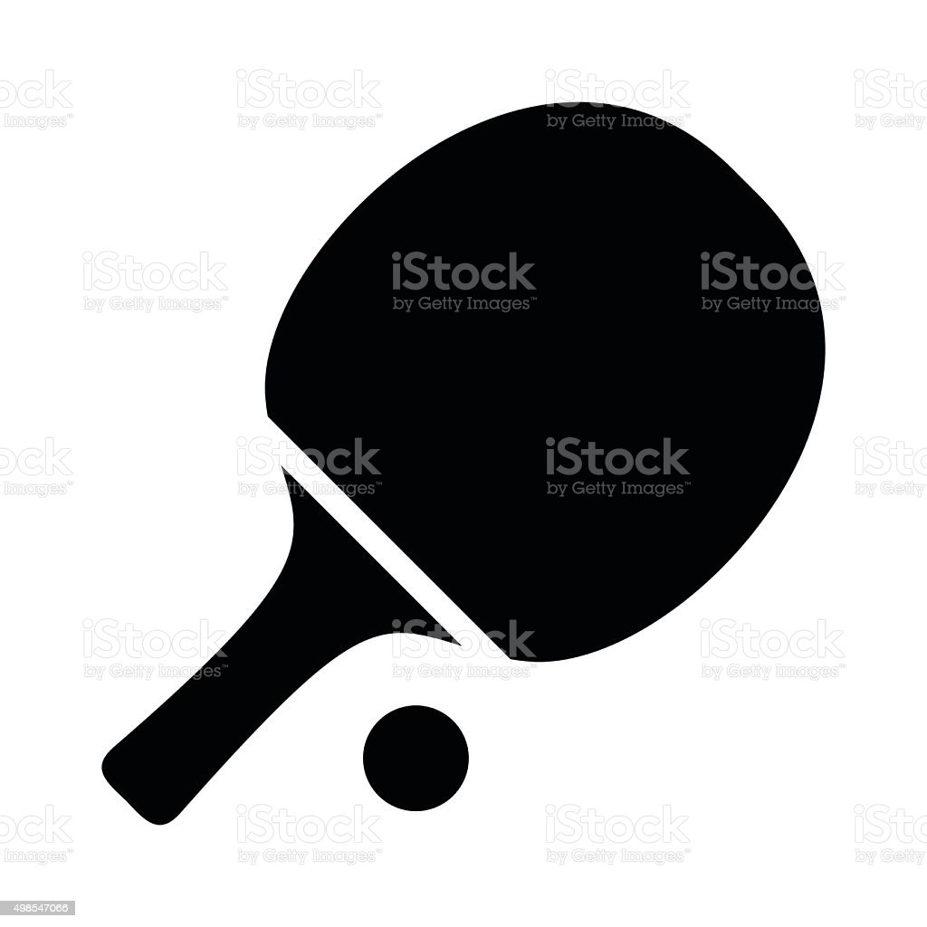 Simple table free other icons - Table Tennis Simple Icon Royalty Free Stock Vector Art