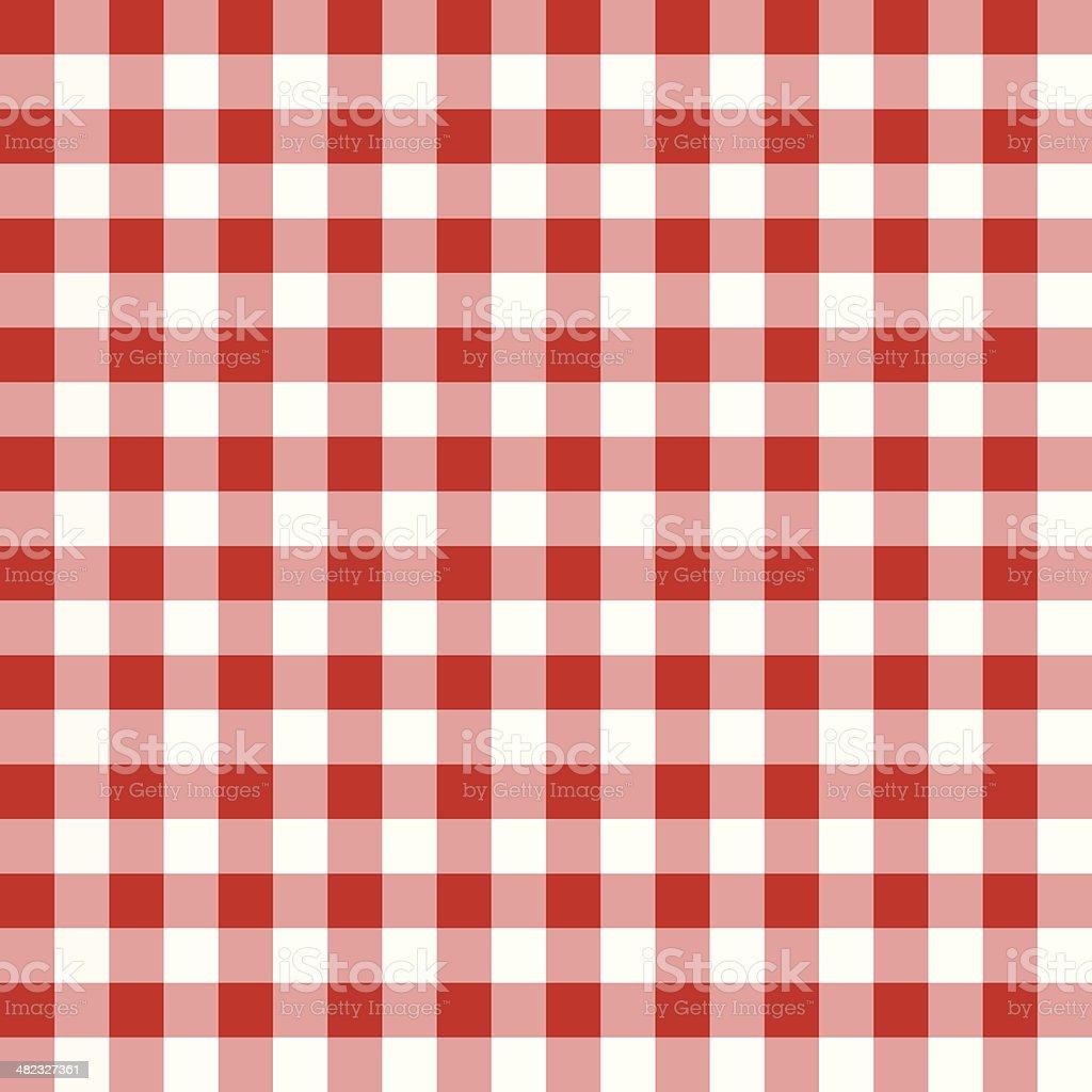 Tablecloth Pattern vector art illustration