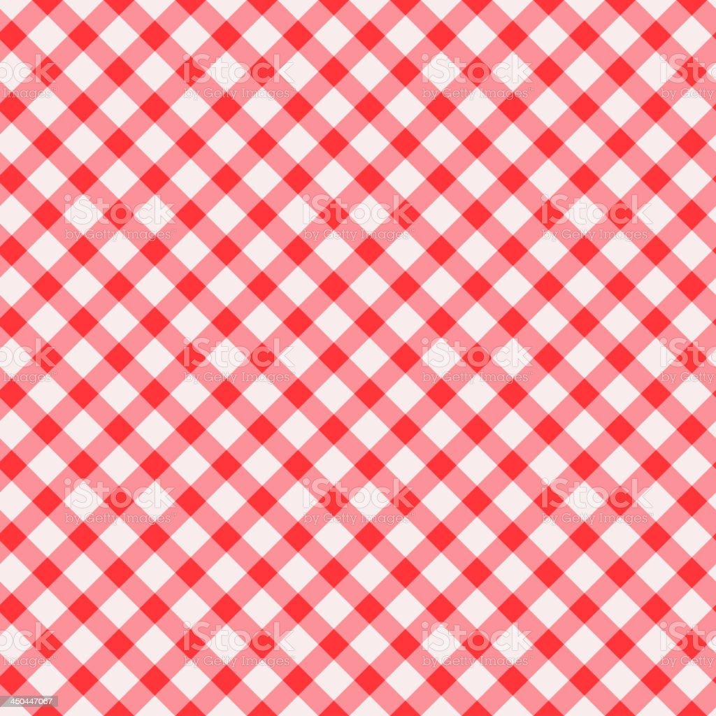 Tablecloth seamless background vector art illustration