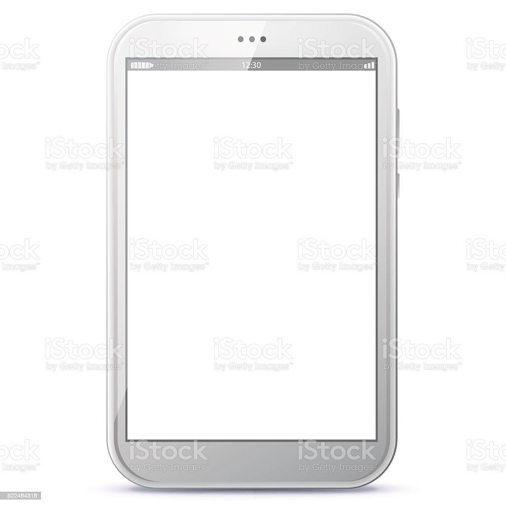Tablet Computer Vector Illustration. vector art illustration