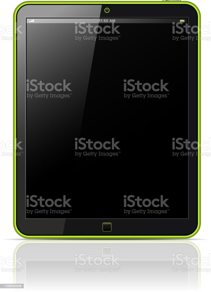 Tablet PC. royalty-free stock vector art