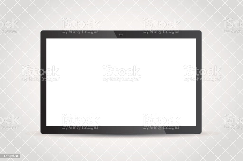 Tablet PC royalty-free stock vector art