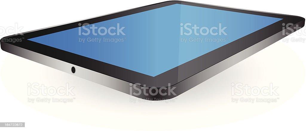 Tablet PC Vector Illustration. royalty-free stock vector art