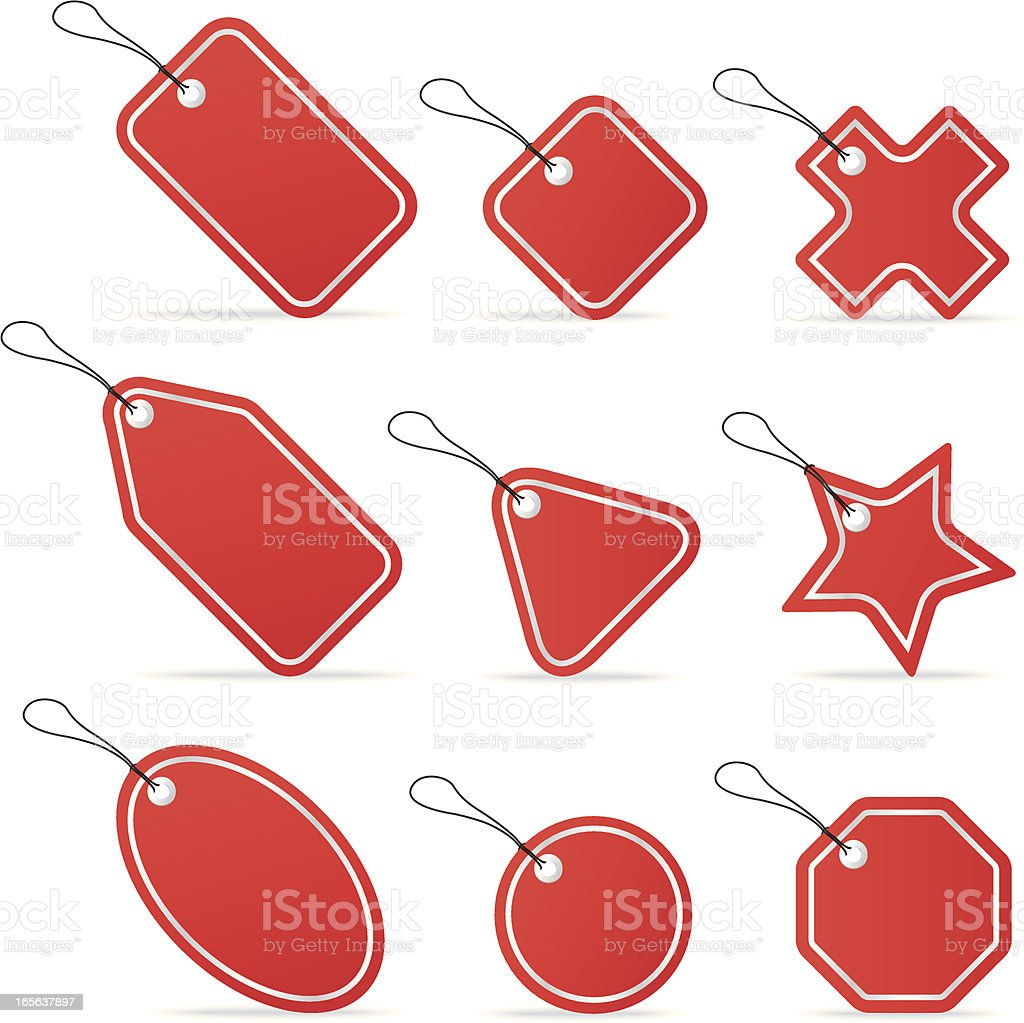 Tags To Go royalty-free stock vector art
