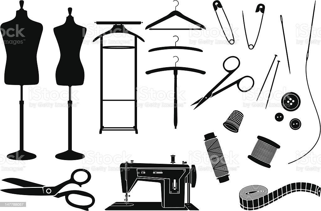 Tailoring vector art illustration