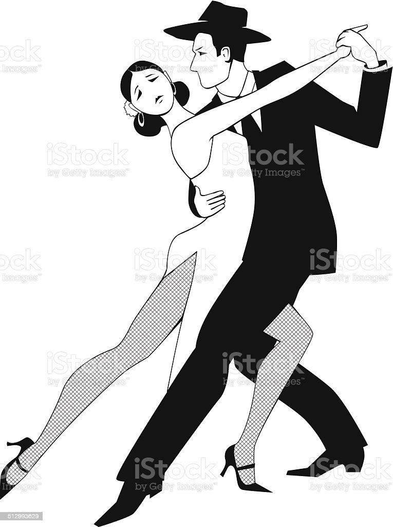 Tango clip art vector art illustration