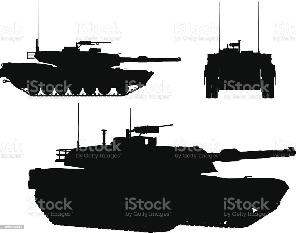 tank vector vector art illustration