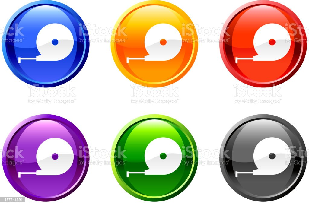 tape measure royalty free vector icon set round buttons royalty-free stock vector art