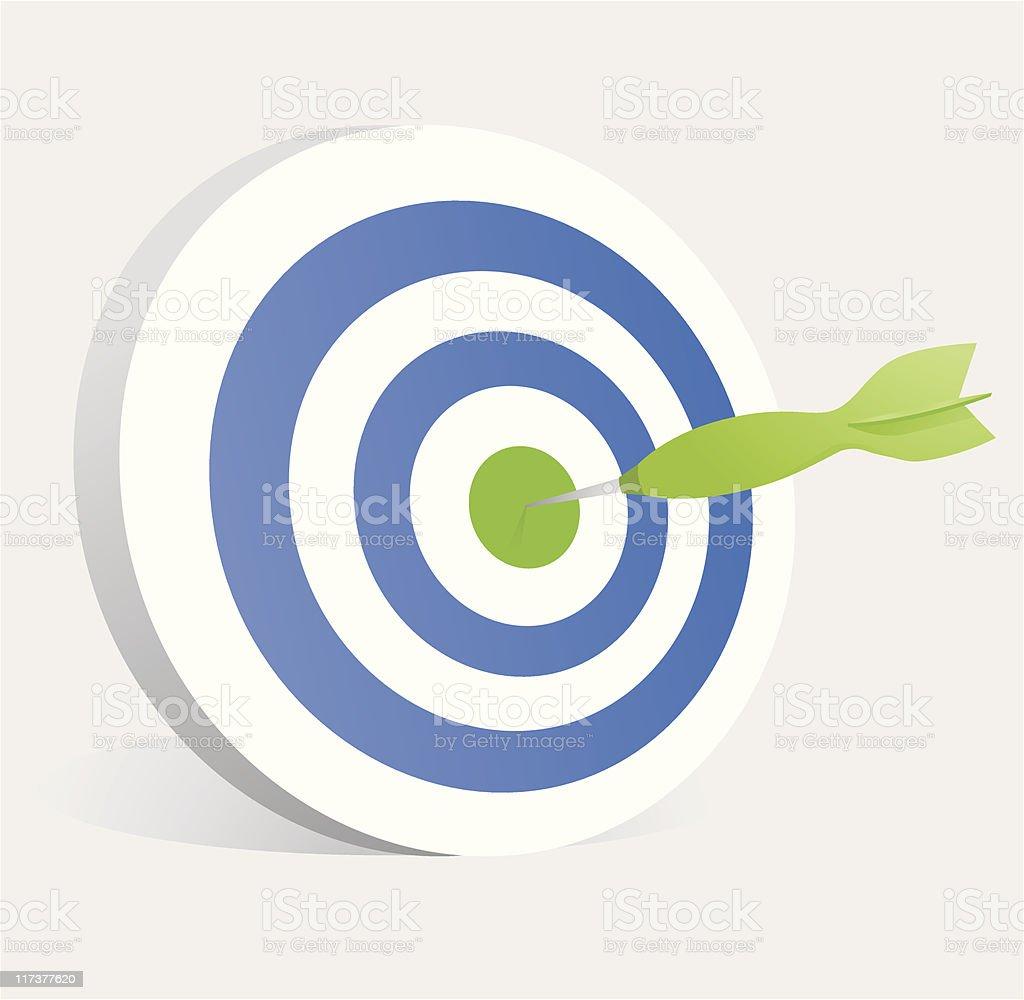 Target Bullseye! royalty-free stock vector art