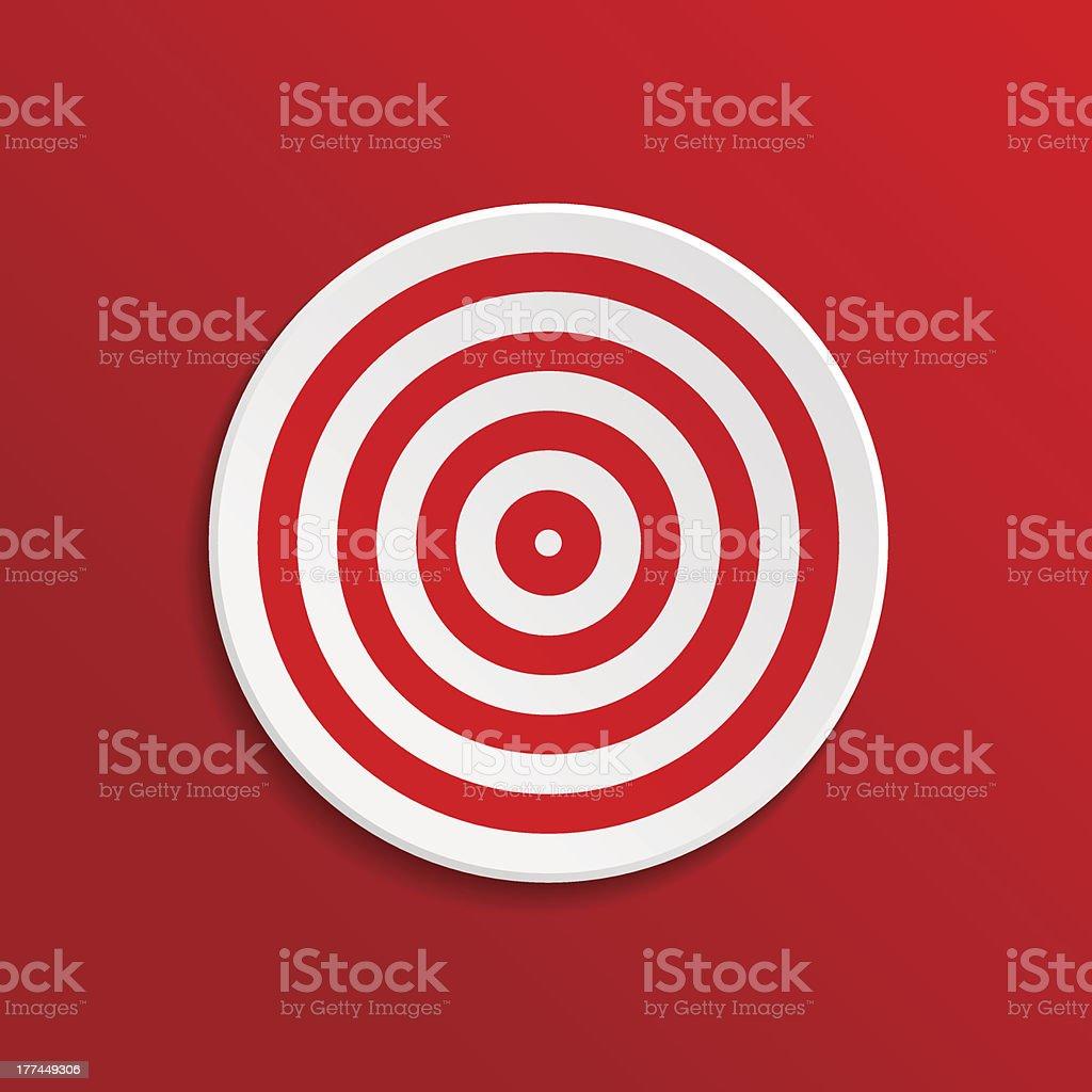 Target royalty-free stock vector art