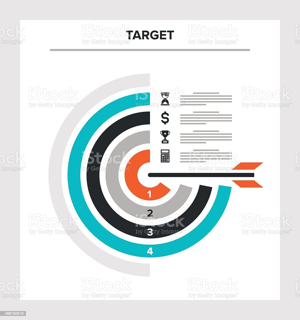 target vector art illustration