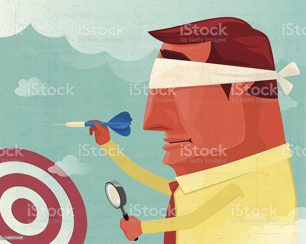 targeting vector art illustration