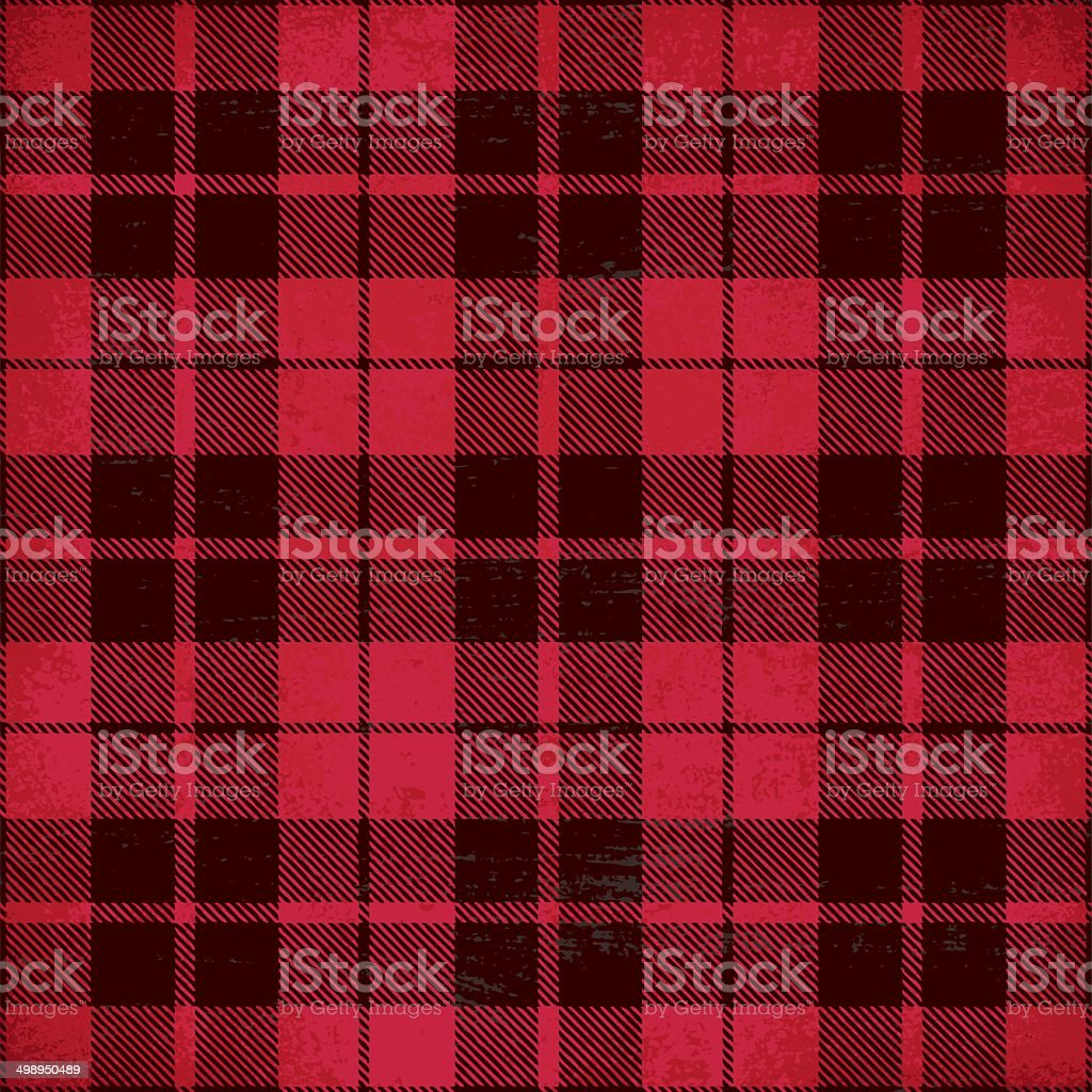 Tartan inspired vintage vector background 4 vector art illustration