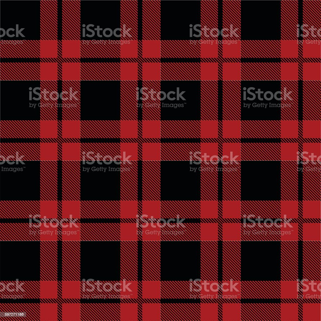 Tartan pattern vector illustration vector art illustration