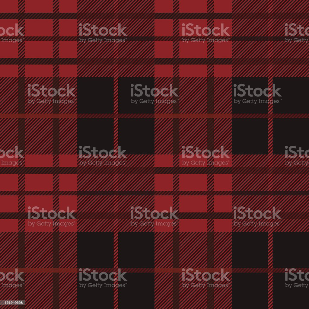 Tartan, plaid seamless pattern. vector art illustration