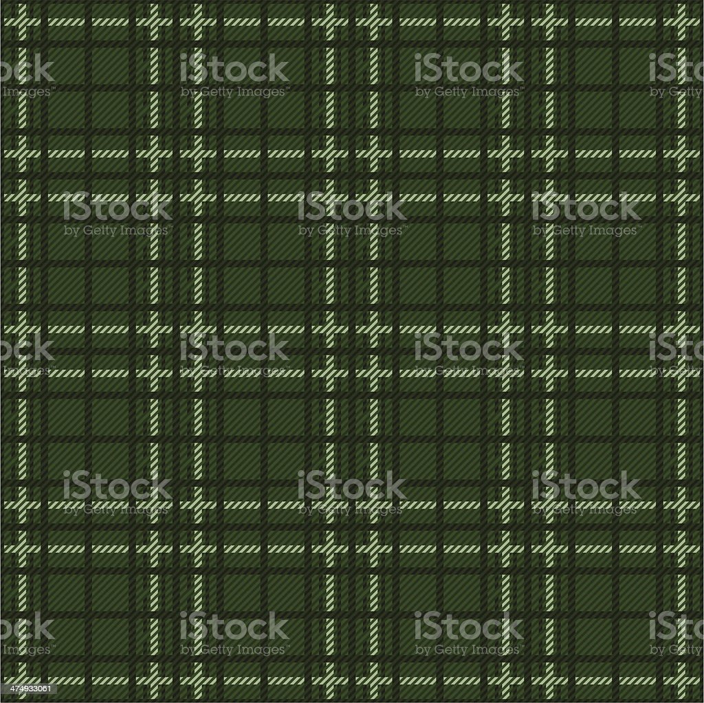 tartan vector art illustration
