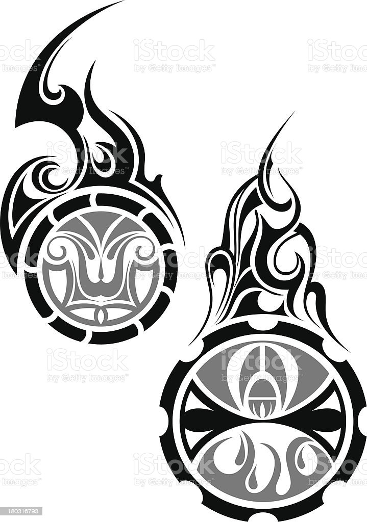 Tattoo vector art illustration