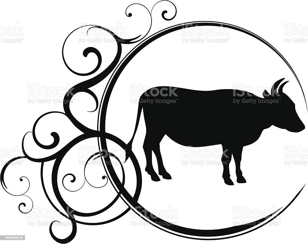 Taurus royalty-free stock vector art