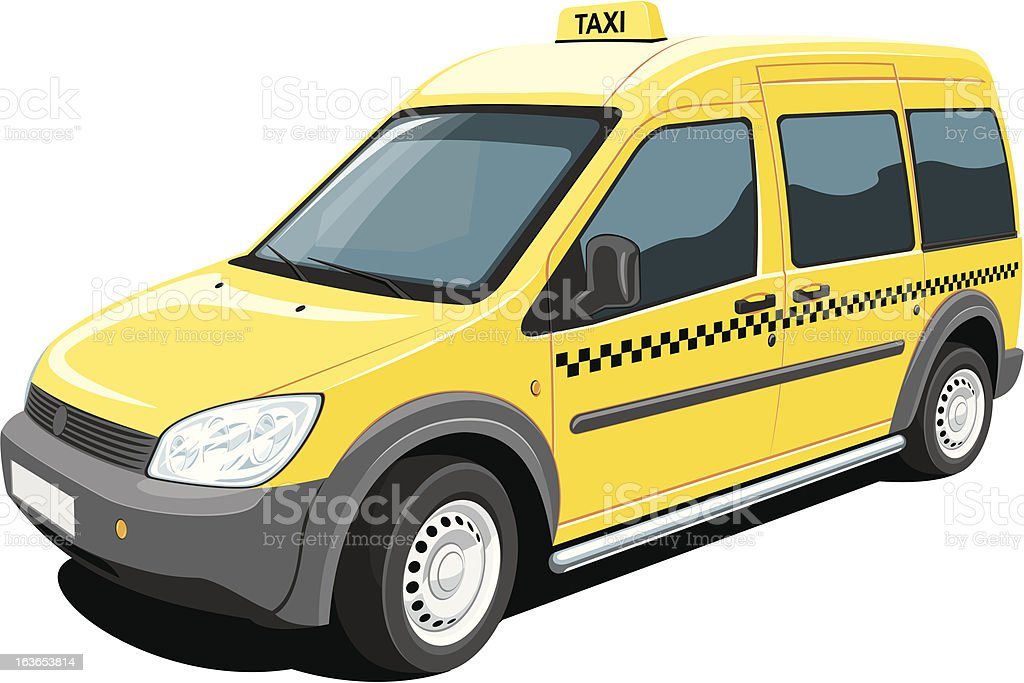 Taxi royalty-free stock vector art