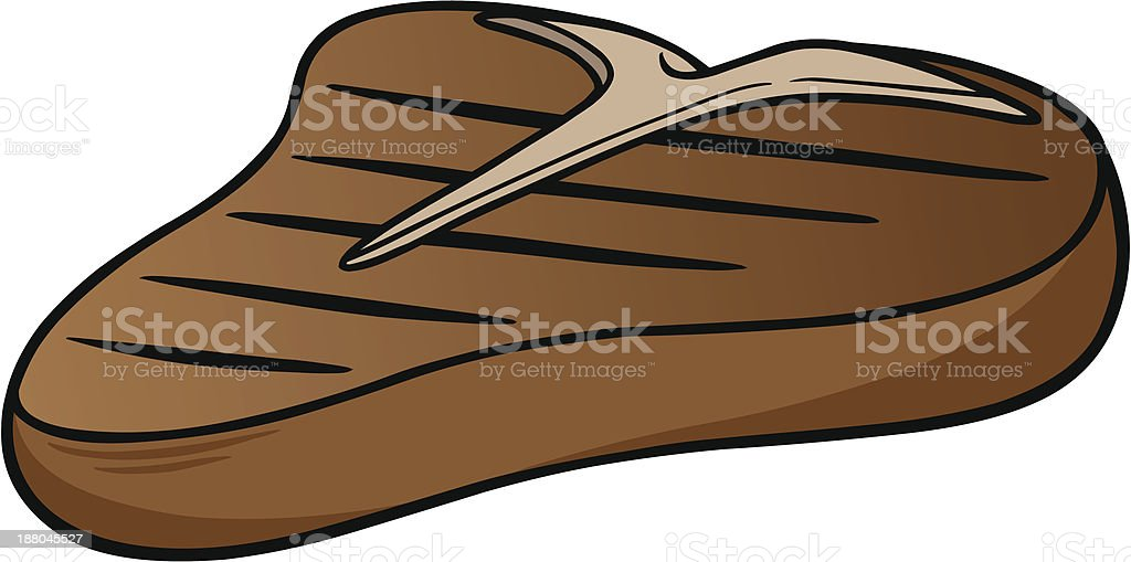 T-Bone Steak royalty-free stock vector art