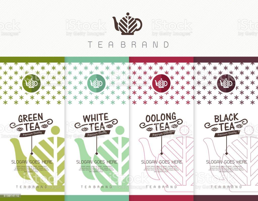 tea 01 vector art illustration