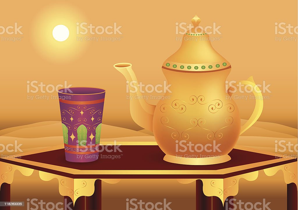 Tea Break royalty-free stock vector art