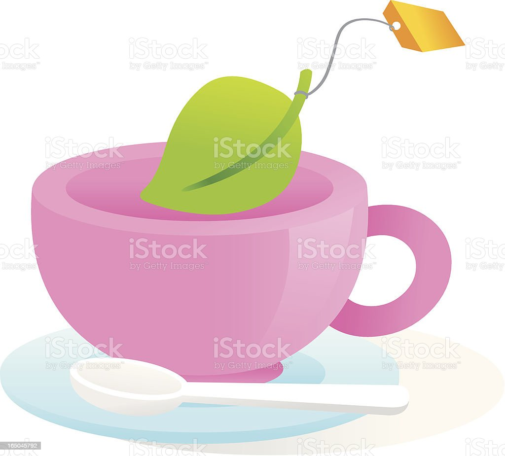 Tea cup royalty-free stock vector art