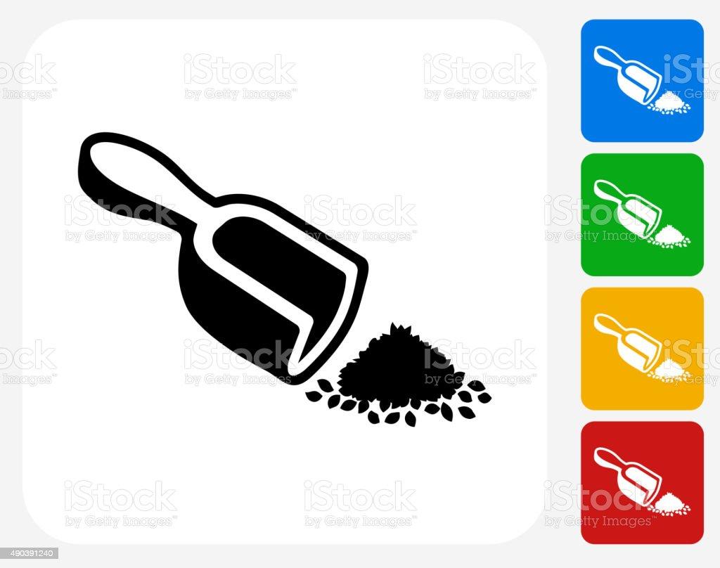 Tea Measurements Icon Flat Graphic Design vector art illustration