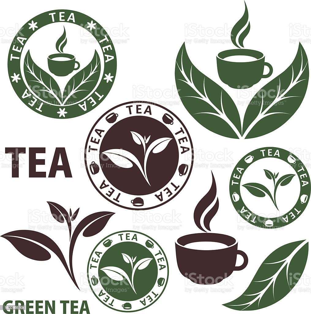 Tea vector art illustration