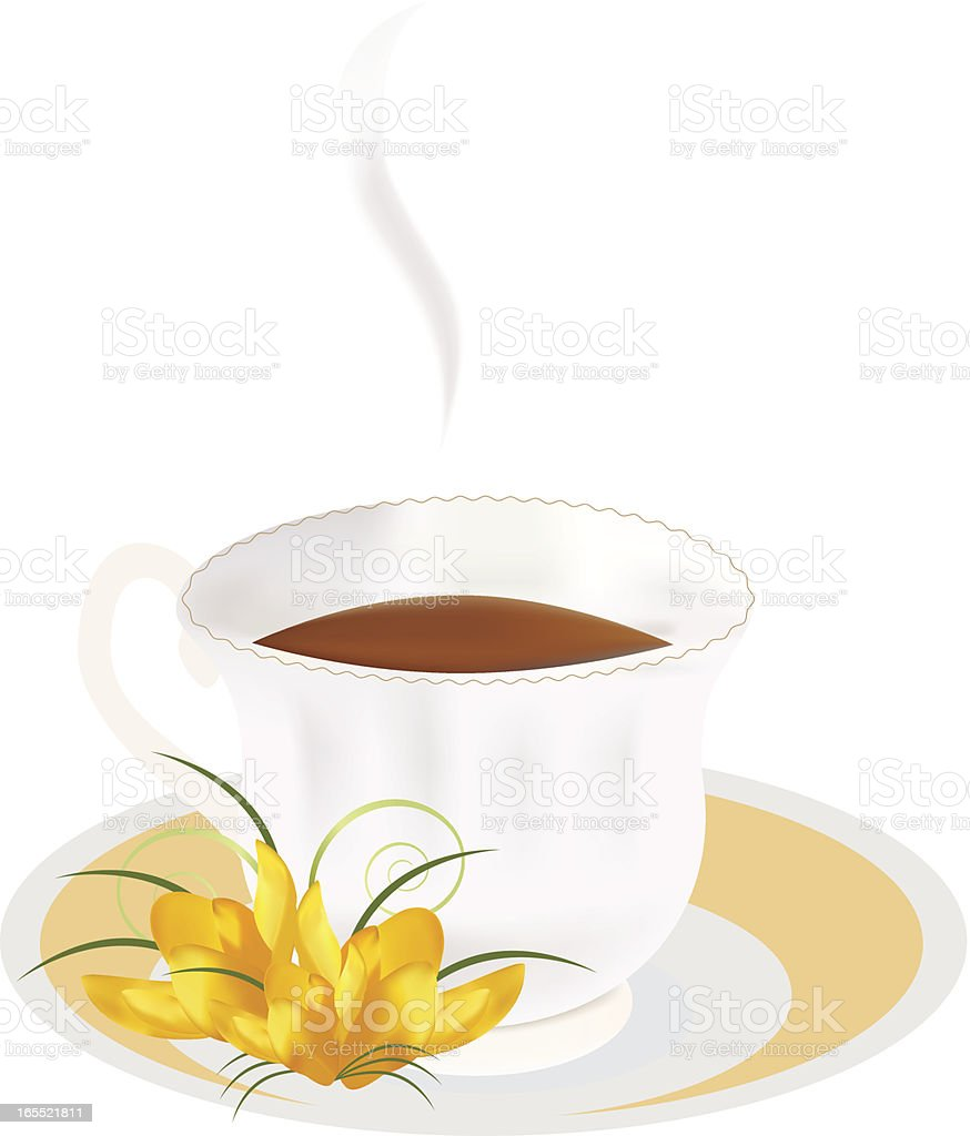 Tea royalty-free stock vector art