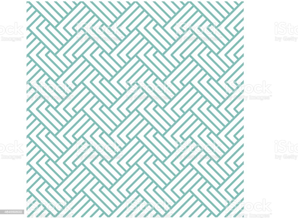 Teal abstract image of vectors on a white background vector art illustration