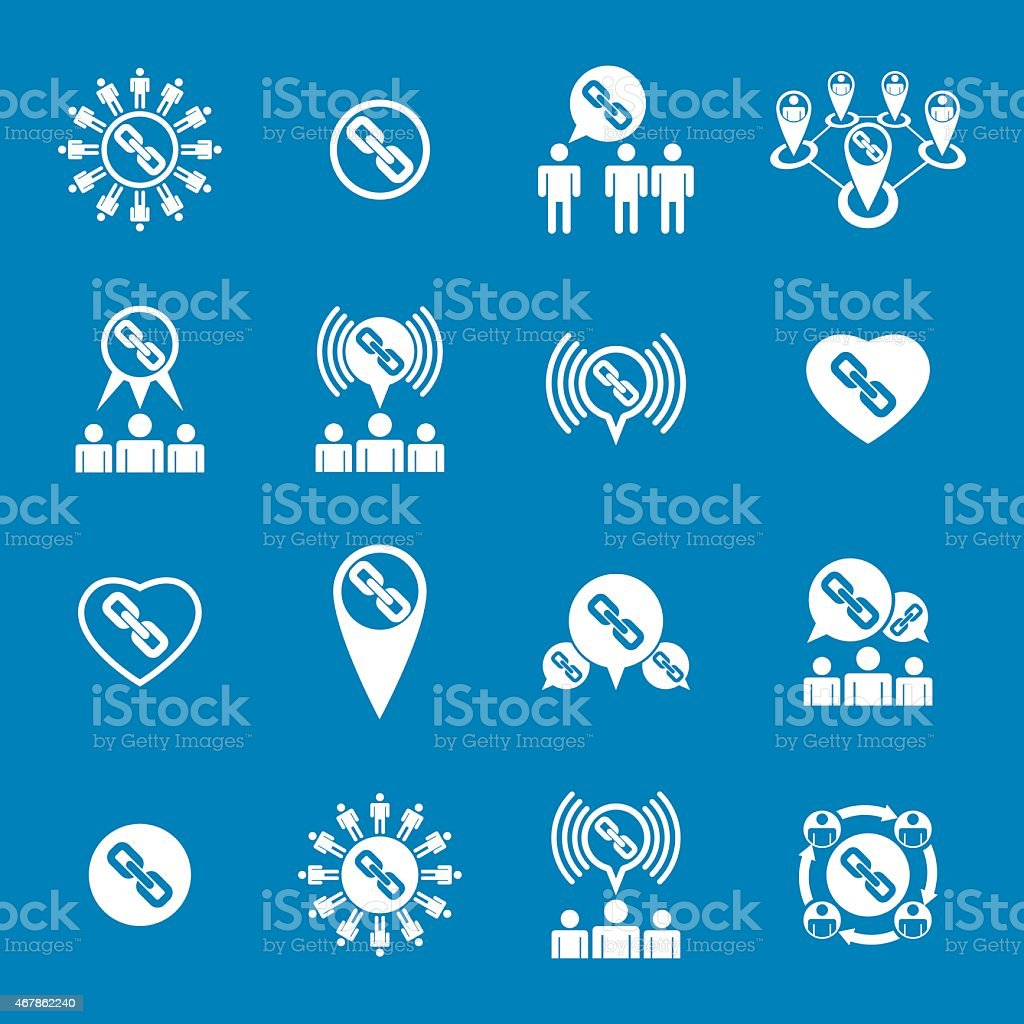 teamwork and business cooperation theme creative vector icons teamwork and business cooperation theme creative vector icons royalty stock vector art