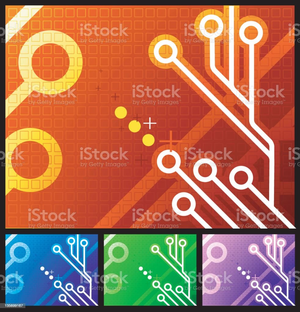 tech background royalty-free stock photo