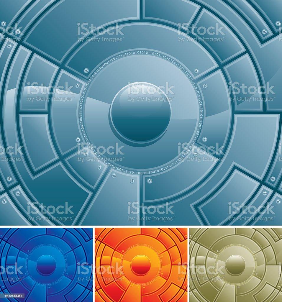 Tech Center royalty-free stock vector art