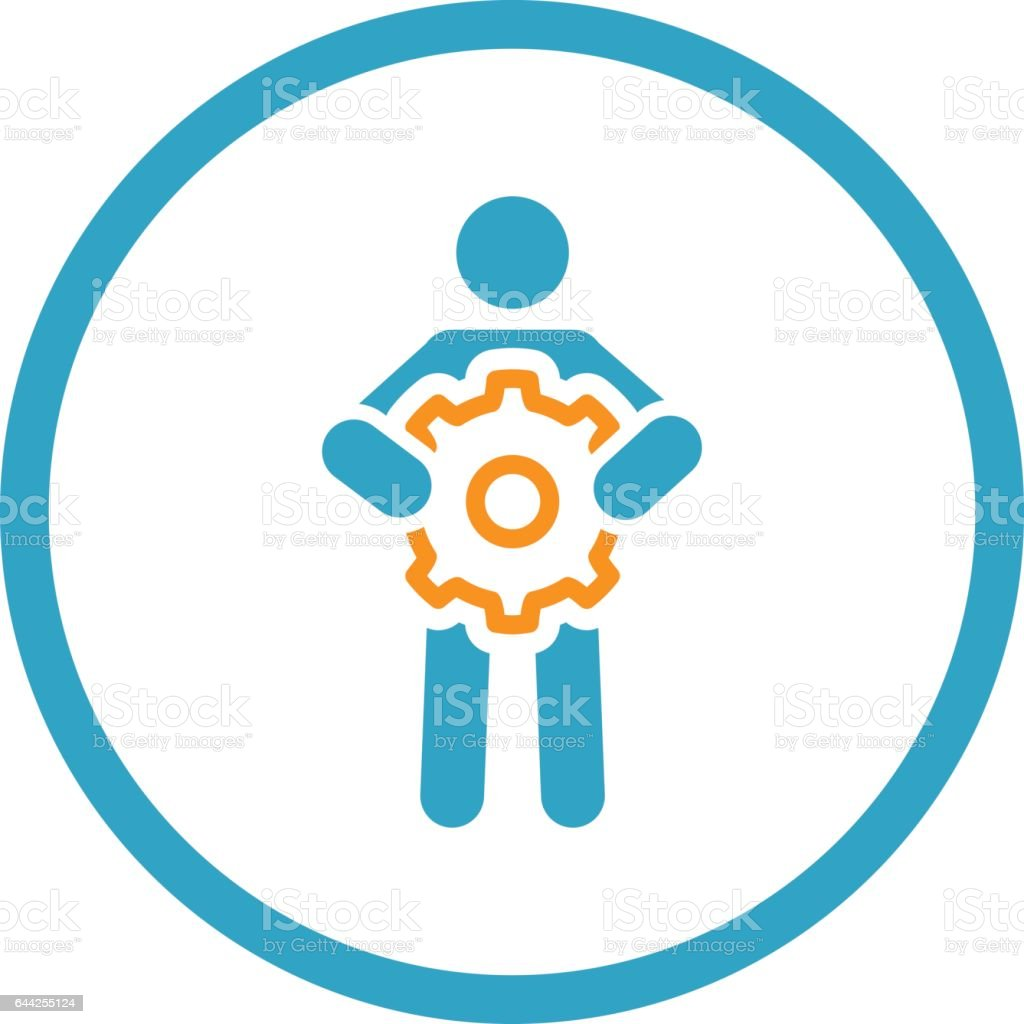 Ge Tech Support Technical Support Icon Flat Design Stock Vector Art 644255124 Istock