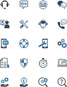 Technical Support Icons - Blue Series