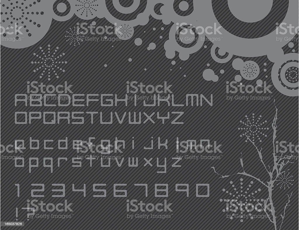Techno royalty-free stock vector art