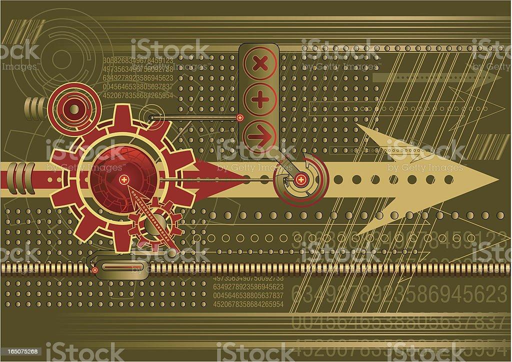 Technological Vector royalty-free stock vector art