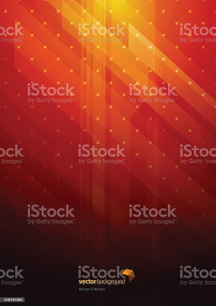 Technology Abstract Background vector art illustration