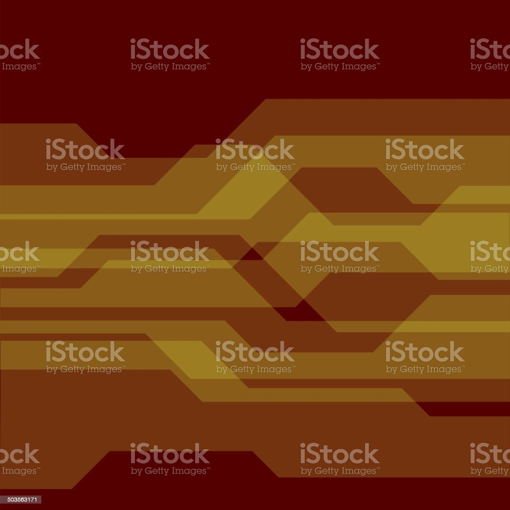 Technology Abstract Background with Geometric Elements. Vector royalty-free stock vector art