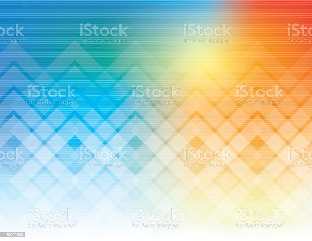 Technology abstract vector art illustration