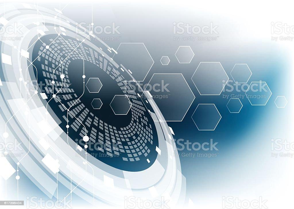 technology abstract72 vector art illustration