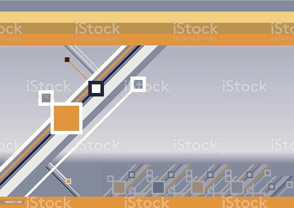 Technology & Business Abstract royalty-free stock vector art