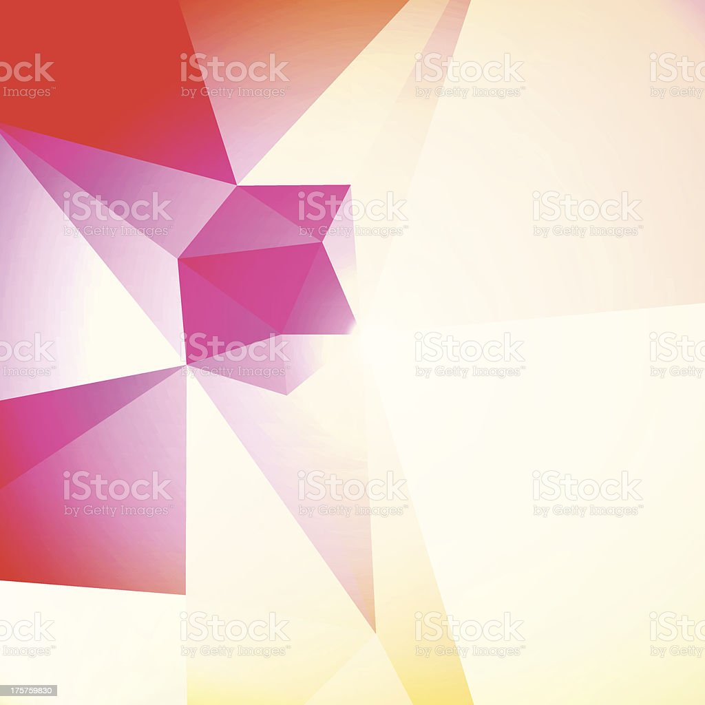 Technology And Art Geometric Layout Template Abstract Vector Background royalty-free stock vector art