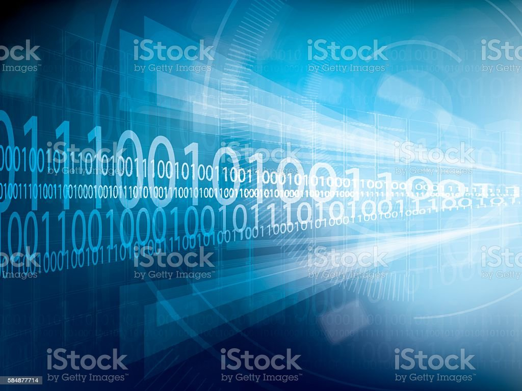 Technology background blue futuristic abstract vector art illustration