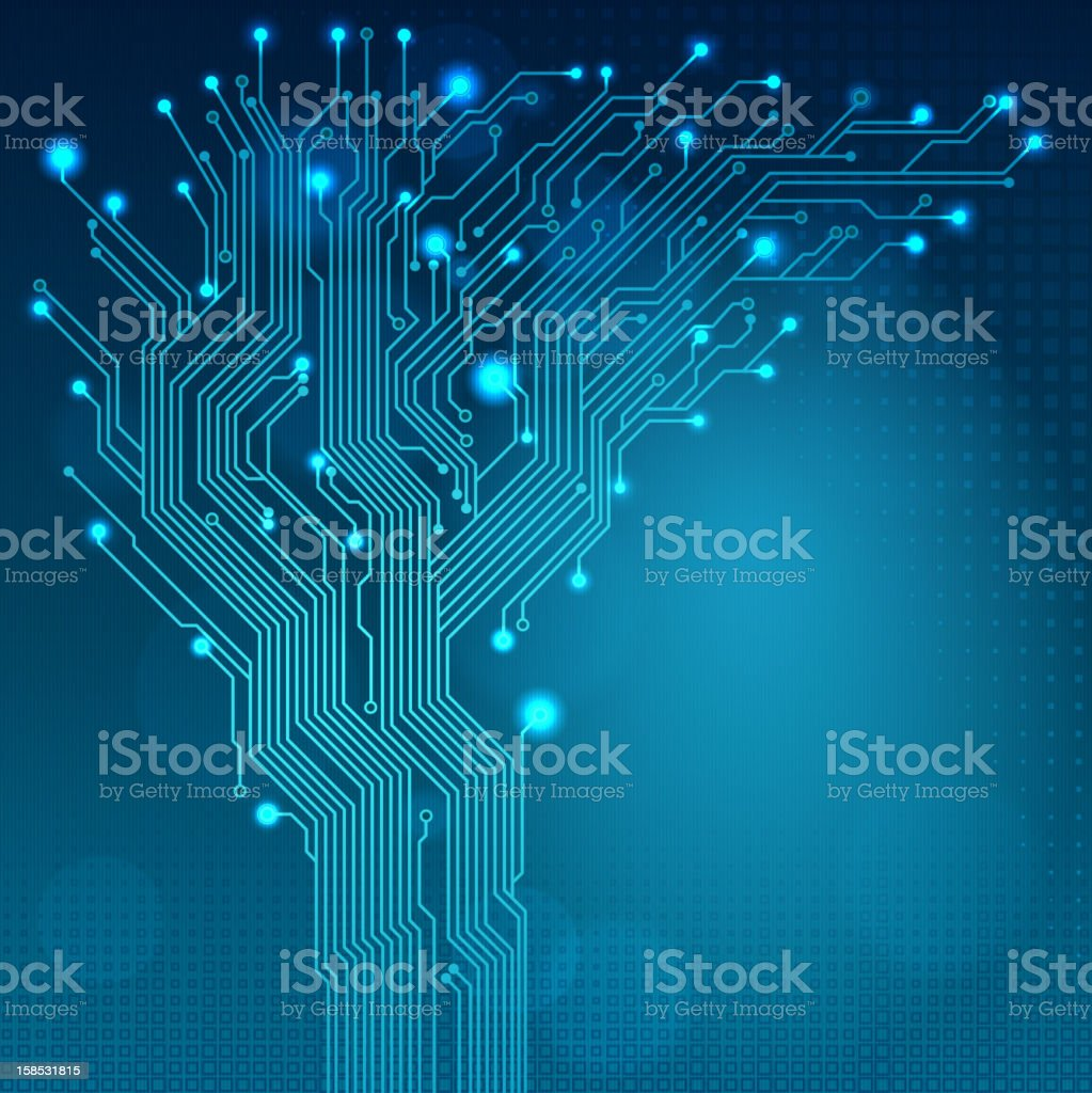 Technology background royalty-free stock photo