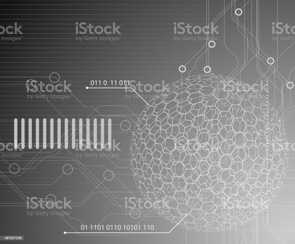 Fondo de tecnología illustracion libre de derechos libre de derechos