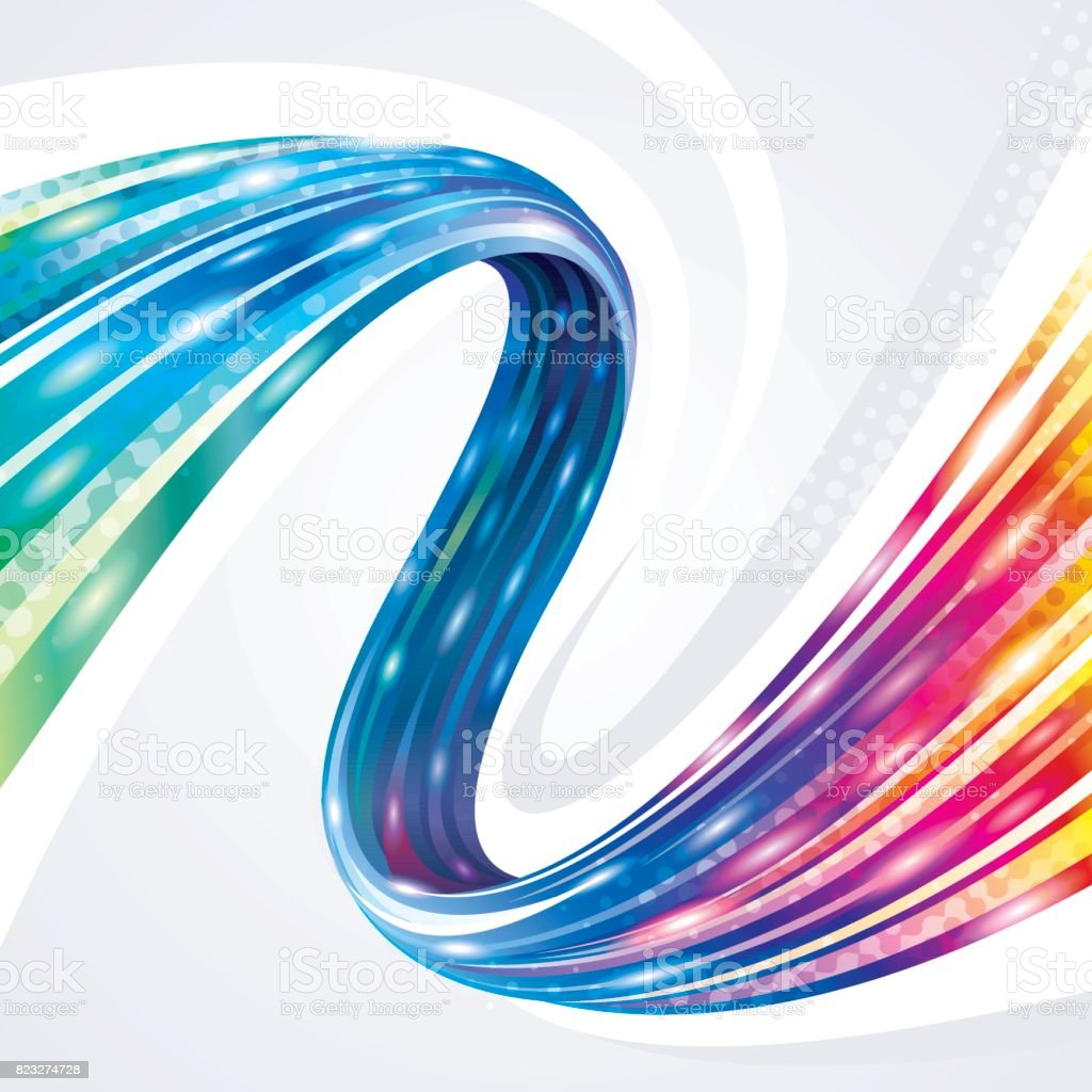 Technology Connection Broadband Abstract Background. vector art illustration
